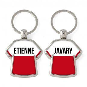 Porte-clés Maillot duo personnalisé