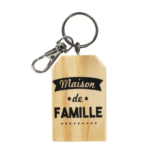Porte-clés maison de famille