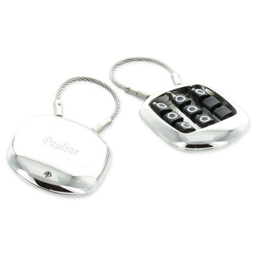 Porte clés morpion gravé