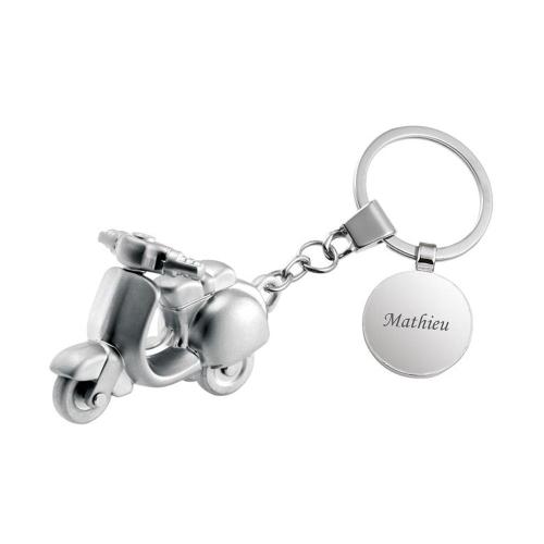 Porte clés vespa gravé