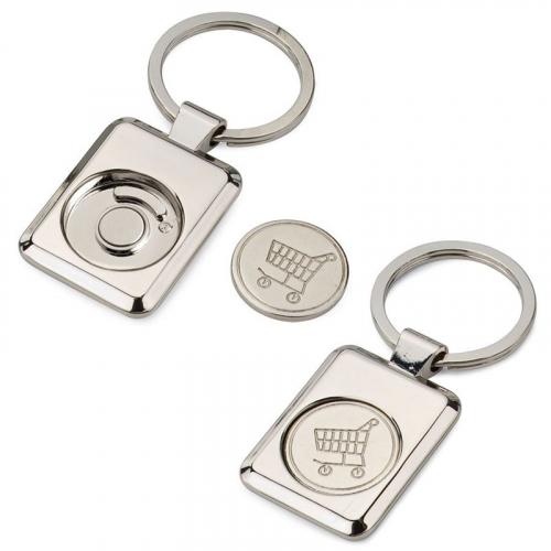 Porte-clés shopping personnalisé
