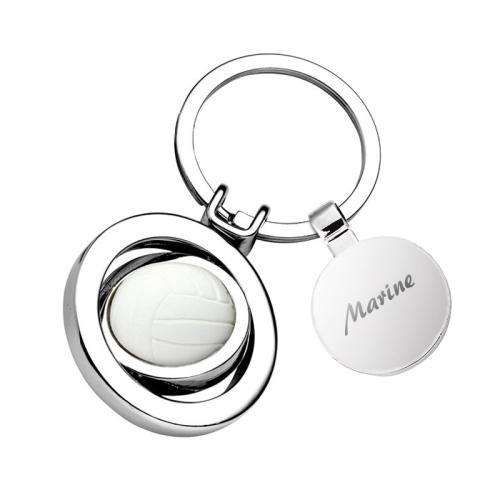 Porte clés volley personnalisé