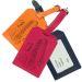 Porte-étiquette de bagage en cuir gravé Super Maman