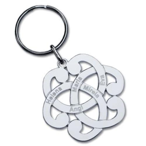 Porte-clés grande arabesque à personnaliser