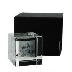 Presse papier cube personnalisé