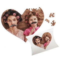 Puzzle coeur Saint Valentin