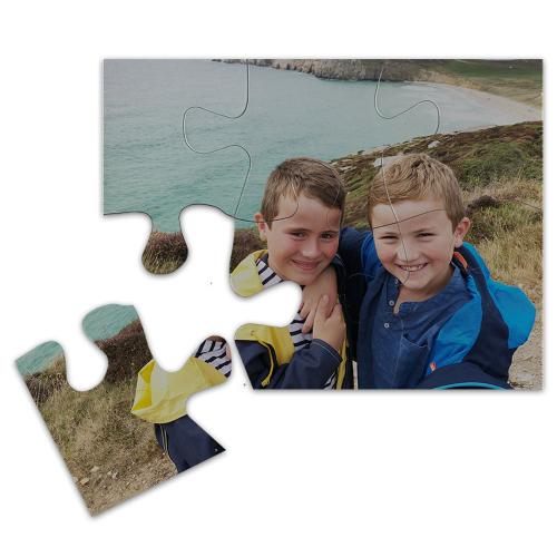Puzzle magnet personnalisé 6 pièces