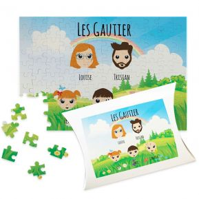Puzzle personnalisé We Are Family