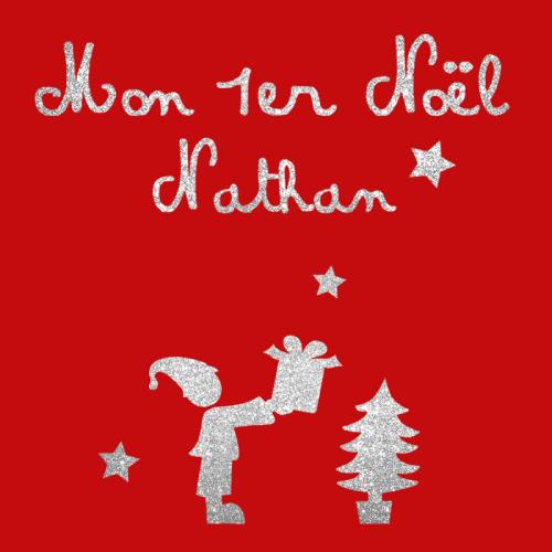 Pyjama personnalisé Noël prénom zoom