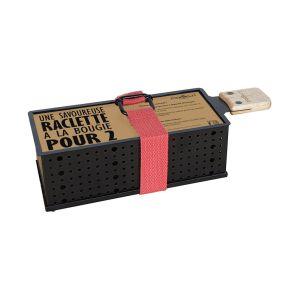 Raclette à la bougie portable pour 2