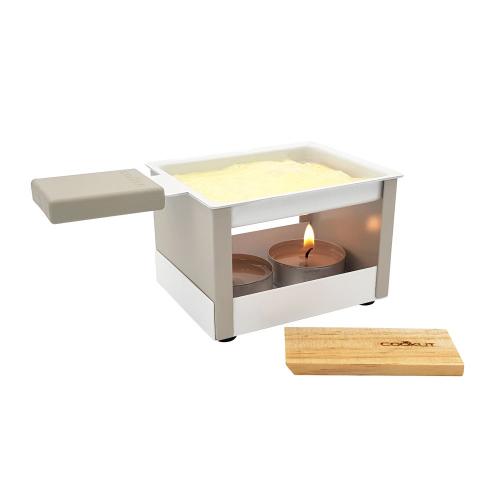 Raclette à la bougie Yeti gris Cookut