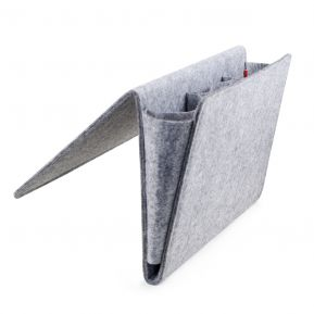 Rangement bord de lit en feutre taille  XL