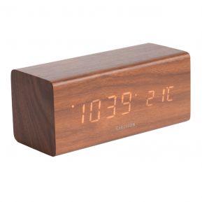 Réveil Block en bois à LED