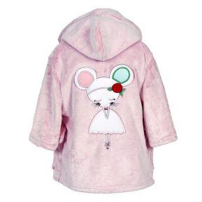 Robe de chambre bébé souricette