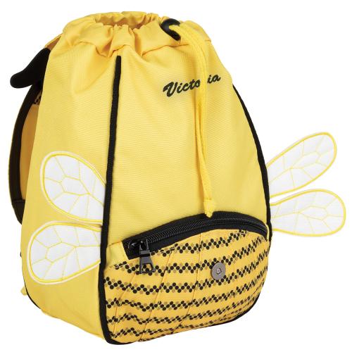 Sac à dos crèche abeille personnalisé Tann's - prénom