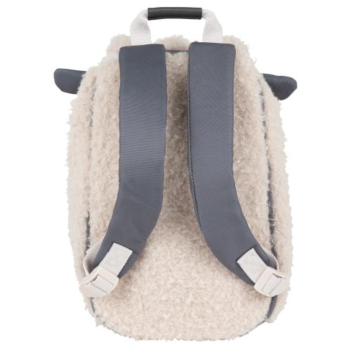 Sac à dos crèche mouton Tann's de dos