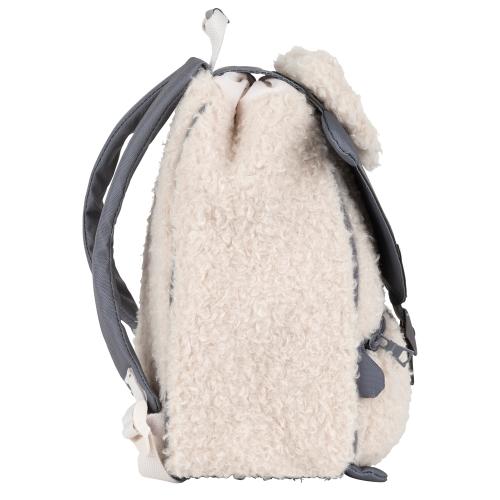 Sac à dos crèche mouton Tann's de profil