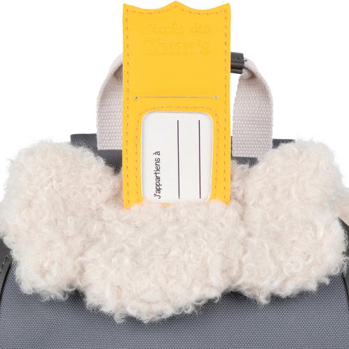 Sac à dos crèche mouton Tann's étiquette couronne