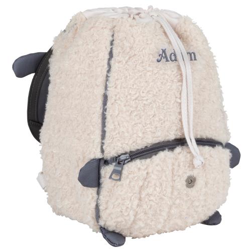 Sac à dos crèche mouton Tann's prénom brodé
