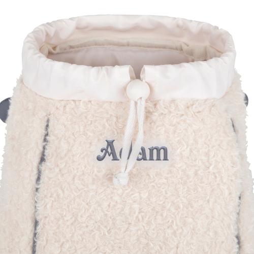Sac à dos crèche mouton Tann's prénom