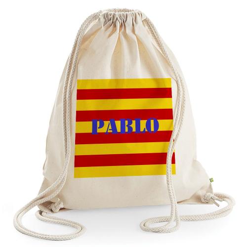 Sac de losirs Catalogne personnalisé