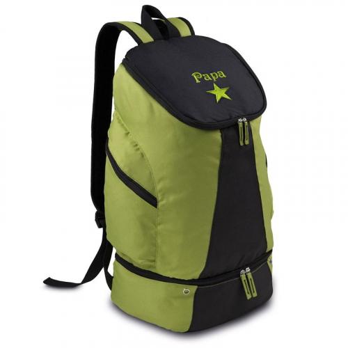 Sac de randonnée personnalisé vert