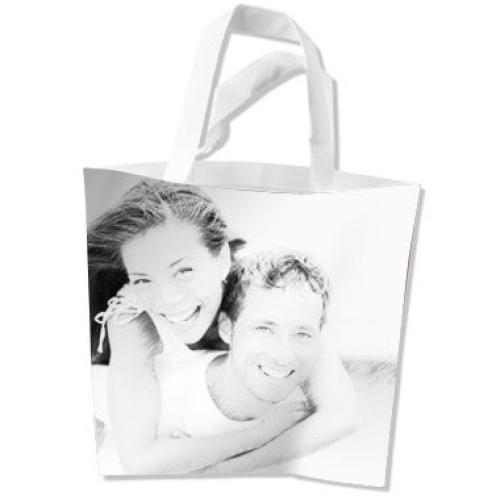 Un sac imprimé avec une photo artistique