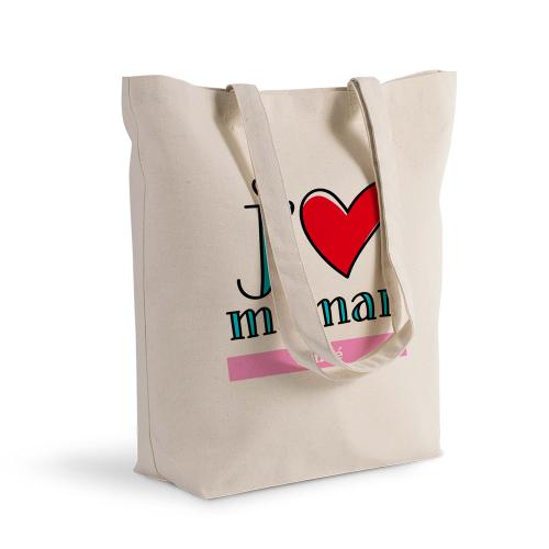 Sac shopping personnalisé je t'aime maman