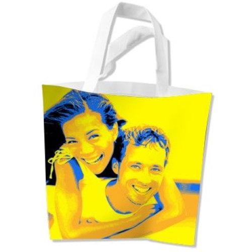 Sac imprimé photo pop art