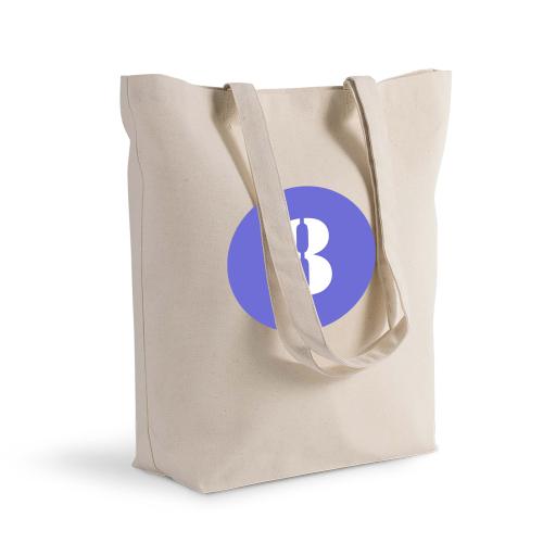 sac shopping personnalisé rond