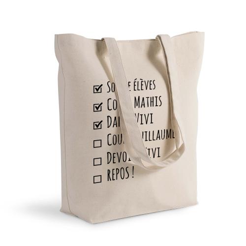 sac shopping personnalisé TO DO