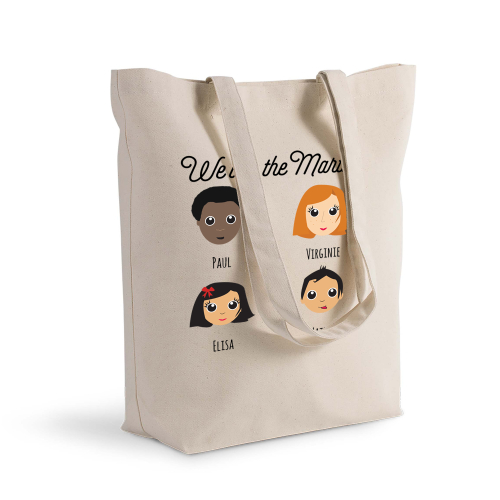 Sac shopping personnalisé We Are Family