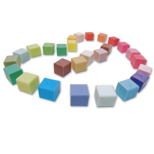 Savon cube personnalisé