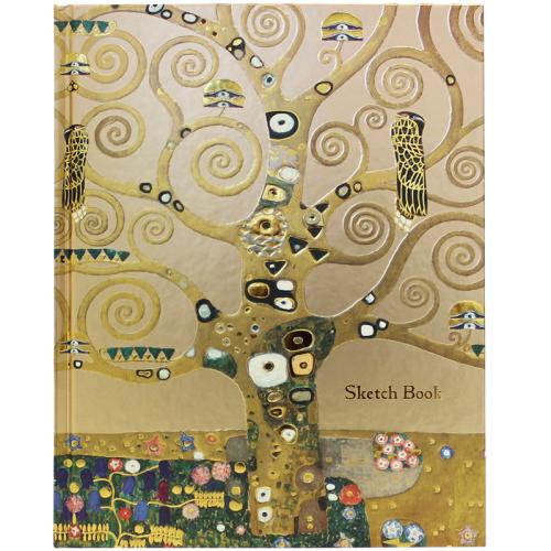 Sketchbook L'arbre de vie de Klimt