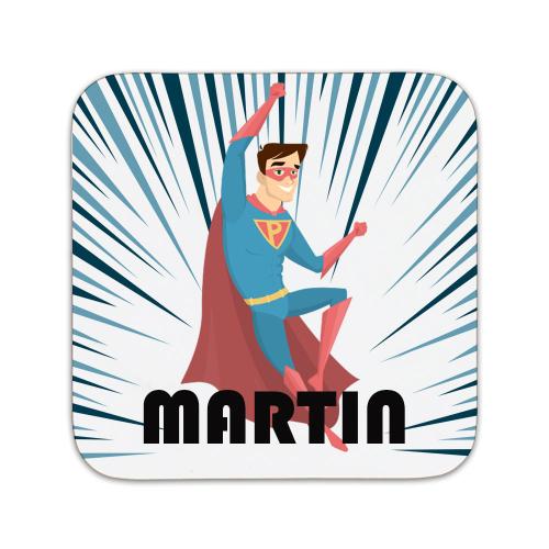 Sous-bock personnalisé super héros