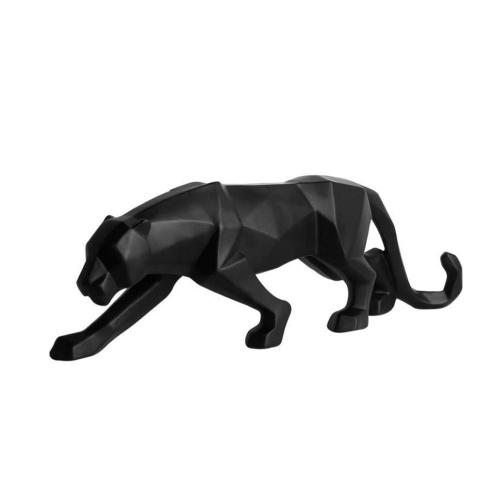Statuette en origami Panthère noire
