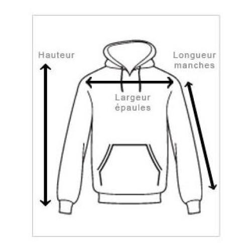 schéma pour le sweat shirt personnalisé