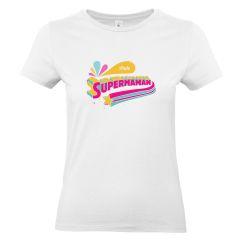 T-shirt femme personnalisé Super Maman
