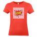 T-shirt femme Corail imprimé photo