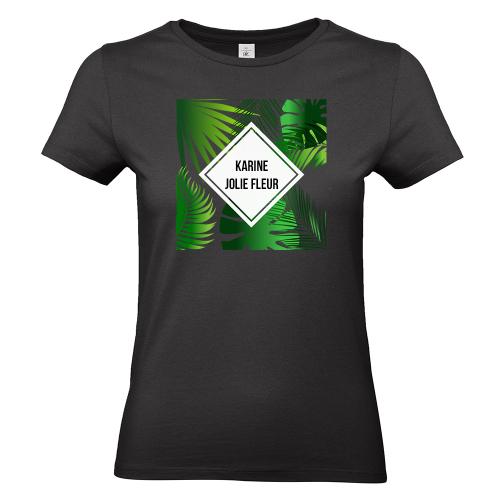 T-shirt femme personnalisé Summertime