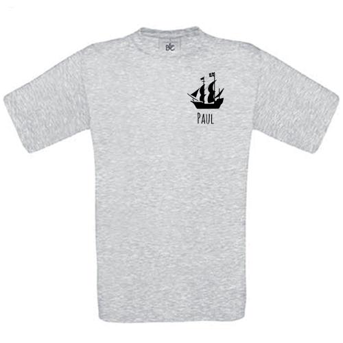 T-shirt enfant personnalisé avec motif ash