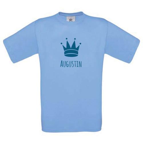 T-shirt enfant personnalisé avec motif ciel