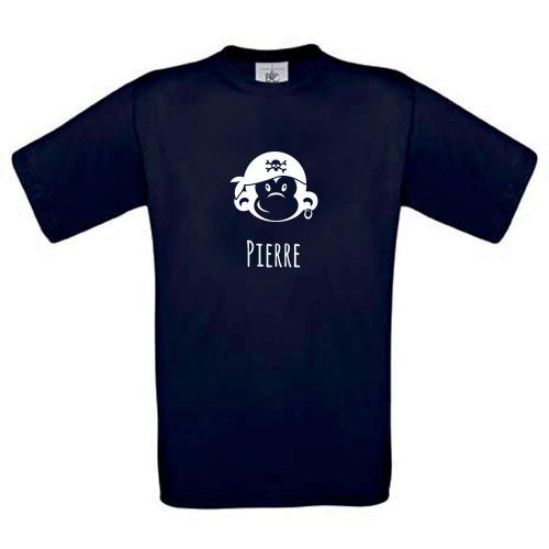 T-shirt enfant personnalisé avec motif marine