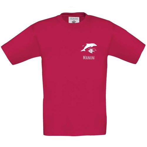 T-shirt enfant personnalisé avec motif sorbet
