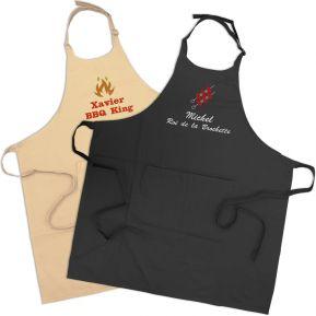 Tablier barbecue personnalisé
