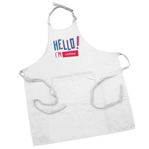 Tablier personnalisé Hello