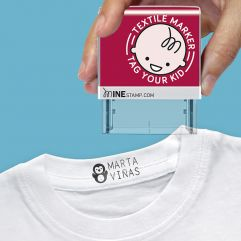Tampon textile et papier personnalisable
