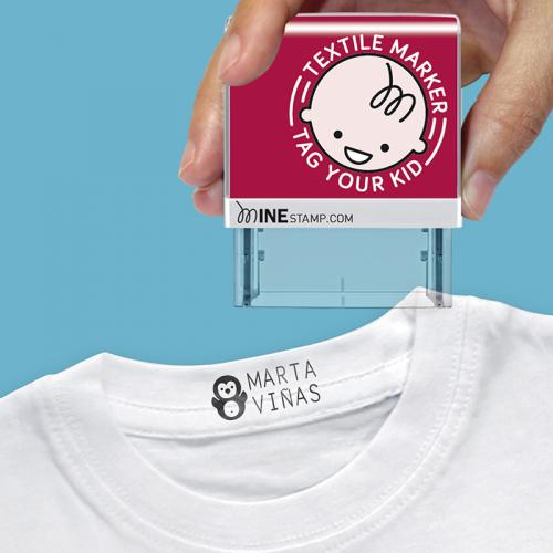 Tampon prénom pour t-Shirt