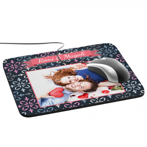 Tapis de souris photo Royal Rouge