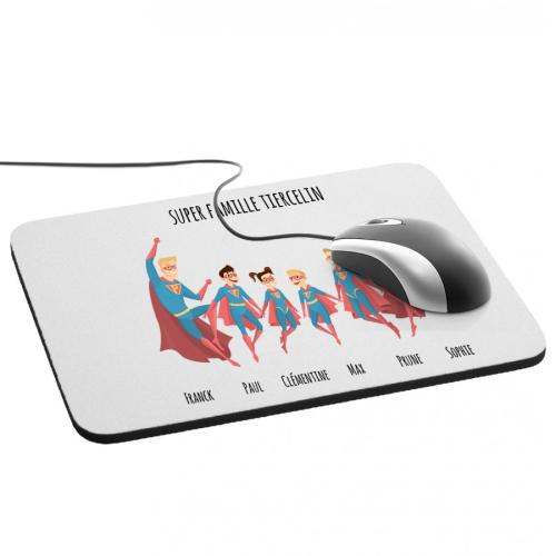 Tapis de souris super héros 6 personnes